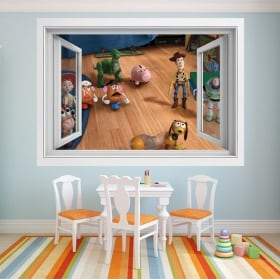 Children's vinyl window toy story 4
