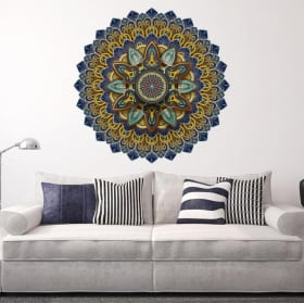 Vinyl stickers with mandalas