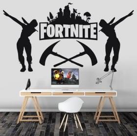 Decorative vinyl fortnite video game