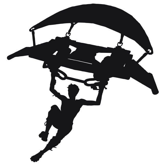Vinyl Video Game Fortnite Hang Glider Or Glider