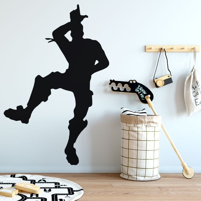 Vinyl stickers fortnite take the l dance