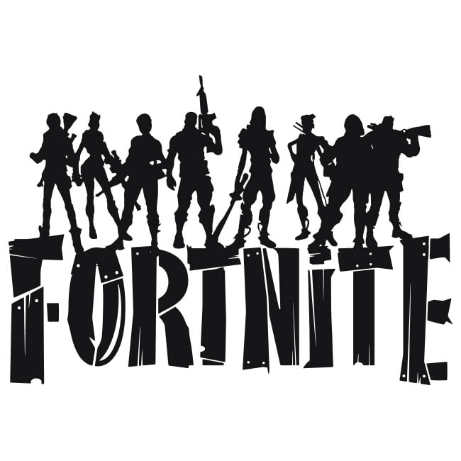 Adhesive Vinyl And Stickers Of Fortnite