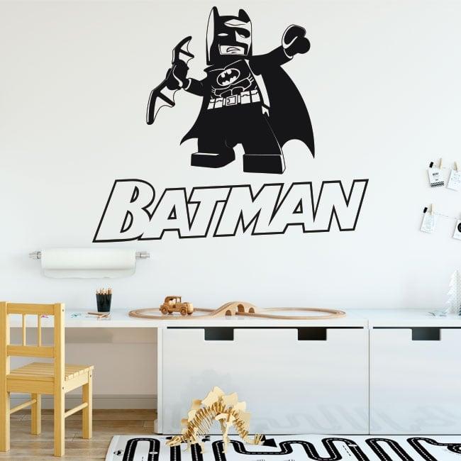Vinyl children or youth from batman lego