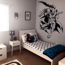 Decorative vinyl from batman