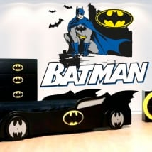 Vinyl and stickers youth or children batman