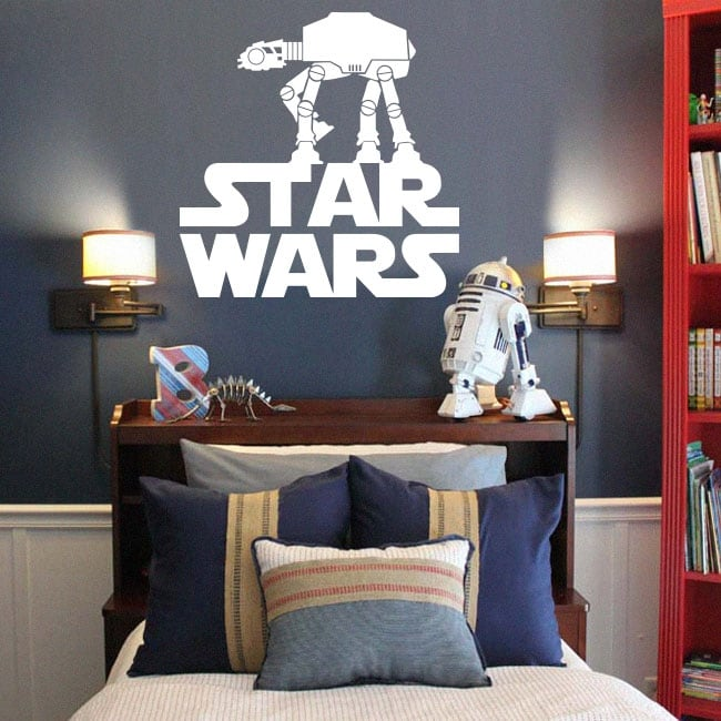 Vinyl and stickers youth or children star wars