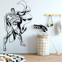 Stickers and decorative vinyls superman