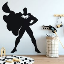 Vinyl stickers of superman