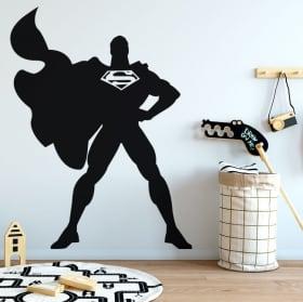 Stickers and decorative vinyls superman