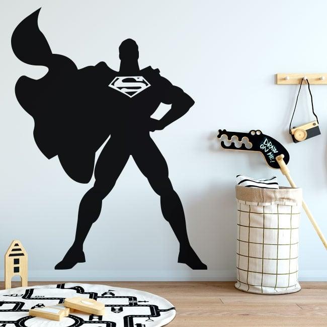 Vinyl stickers of superman