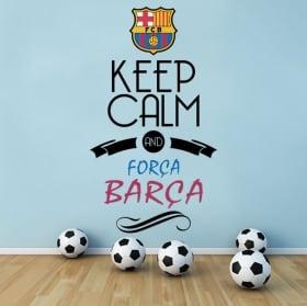 Vinyl football club barcelona shield