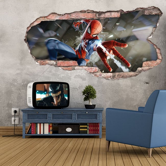 Vinyl and stickers 3d spider-man