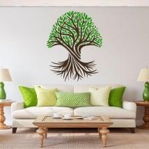 Vinyl stickers the tree of life