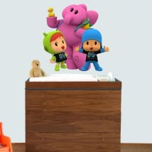 Baby or children's vinyl pocoyo nina and elly