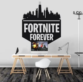 Vinyl and stickers fortnite forever