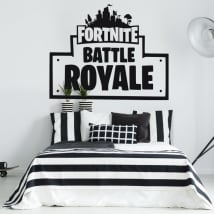 Decorative vinyl and stickers of fortnite battle royale