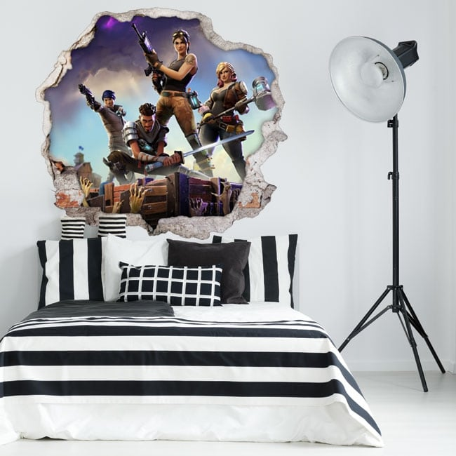 Stickers and vinyls 3d fortnite game