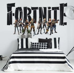 Stickers fortnite video game