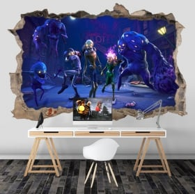 Vinyl of fortnite save the world zombies 3d
