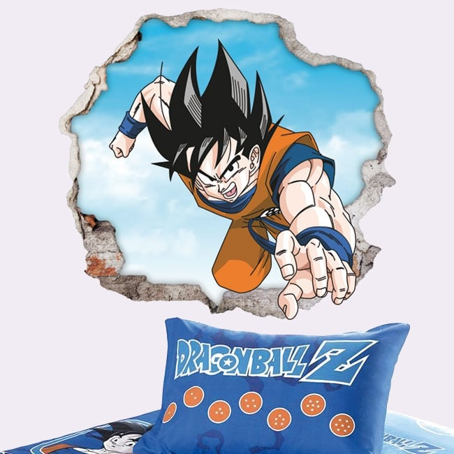 Decorative vinyl and stickers dragon ball 3d
