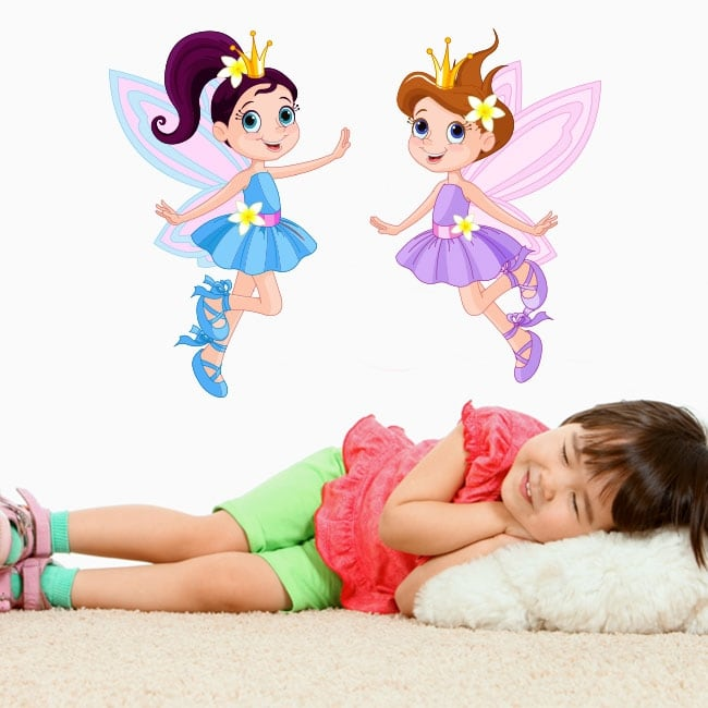 Vinyl and stickers for children magical fairies