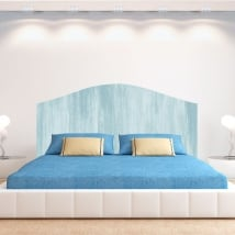 Vinyls for bed headboards