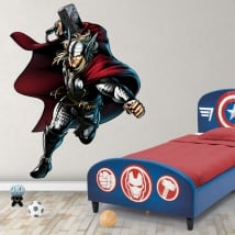 Vinyl stickers marvel thor