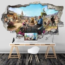 Decorative vinyl 3d video game far cry new dawn