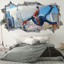 Wall stickers 3d spider-man