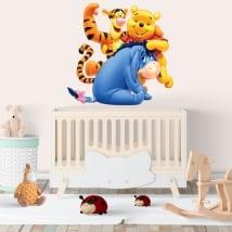 Vinyl stickers for children disney winnie the pooh