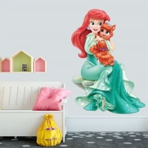 Vinyl children or youth disney ariel princess