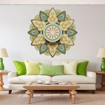 Vinyl stickers mandalas to decorate