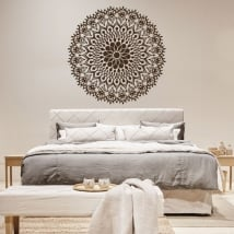 Vinyl mandalas for headboard