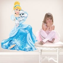 Vinyl disney cinderella princess and pumpkin