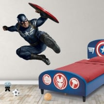 Vinyl stickers marvel captain america