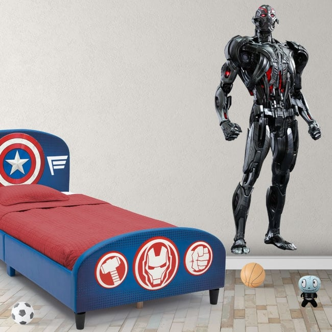 Vinyl stickers marvel ultron
