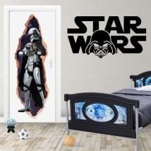 Vinyl for doors 3d star wars captain phasma