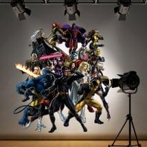 Stickers and decorative vinyls superheroes x-men