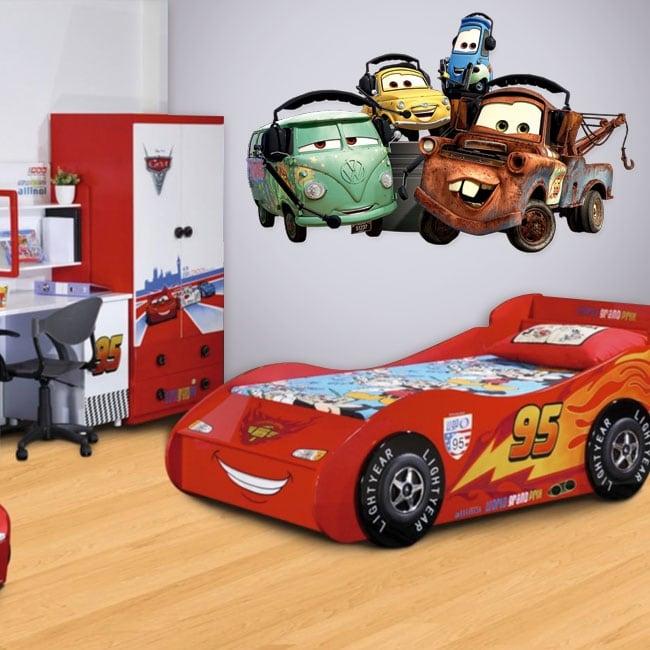 Children's vinyl disney cars