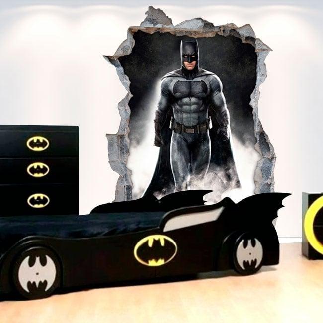 Decorative vinyl stickers 3d batman