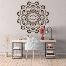 Vinyl adhesives mandalas to decorate
