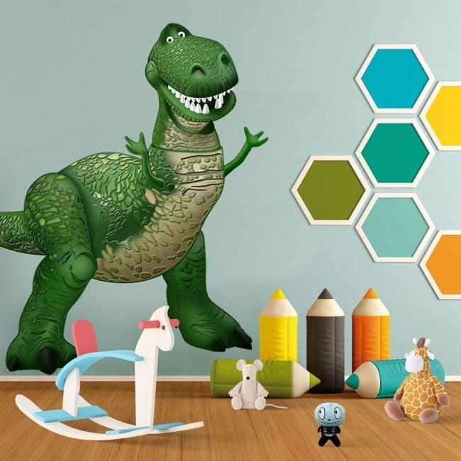 Children's vinyl disney dinosaur rex toy story