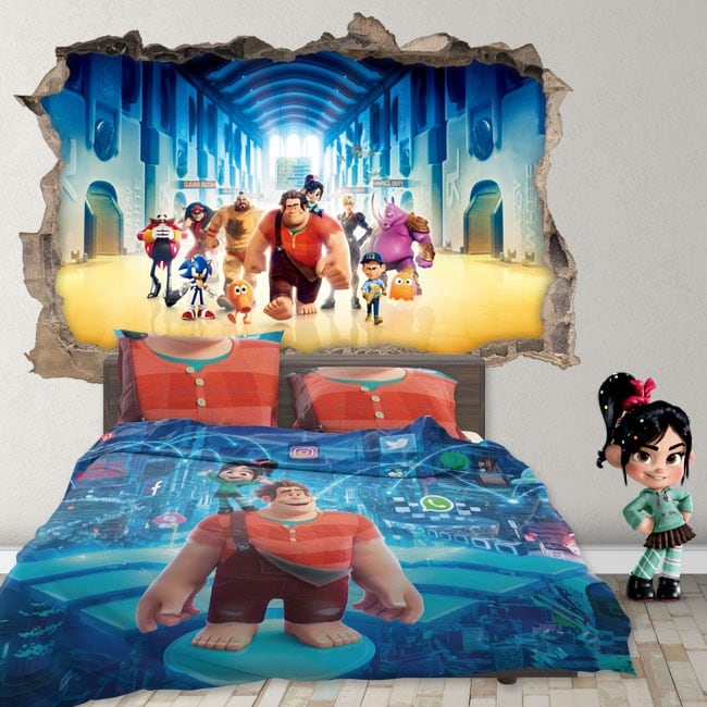 Vinyl 3d disney ralph breaks the internet
