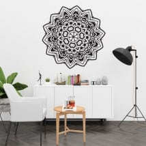 Vinyl mandalas for walls and windows