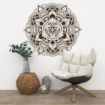 Decorative vinyl mandalas to decorate