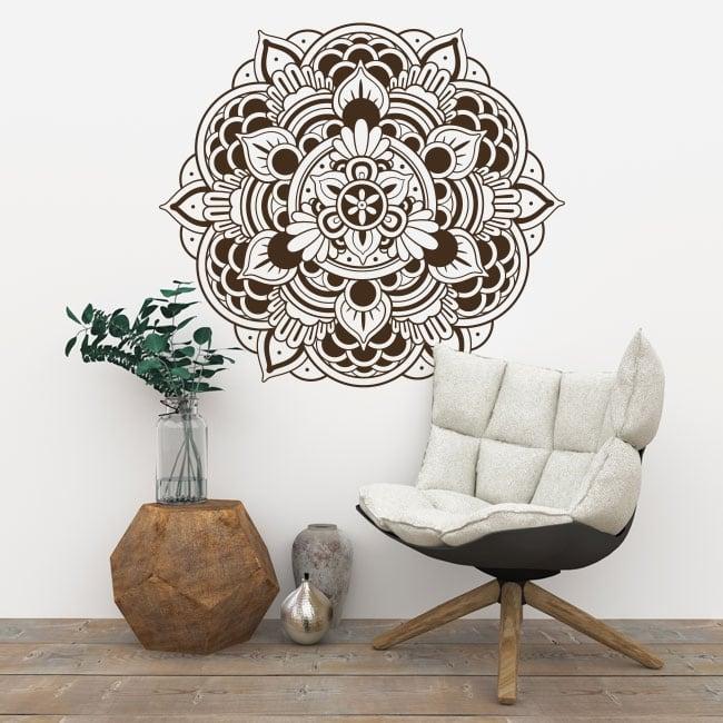 Decorative vinyl mandalas to decorate