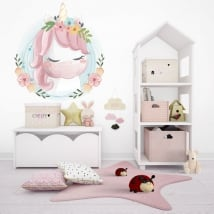 Children's or youth vinyl baby unicorn