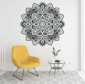 Wall decal mandalas to decorate