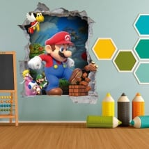 Vinyl children and youth video game mario bros 3d
