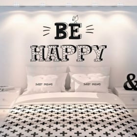 Wall stickers phrases in english all you need is love